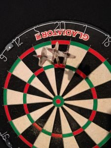 Dartboard 180 Punkte